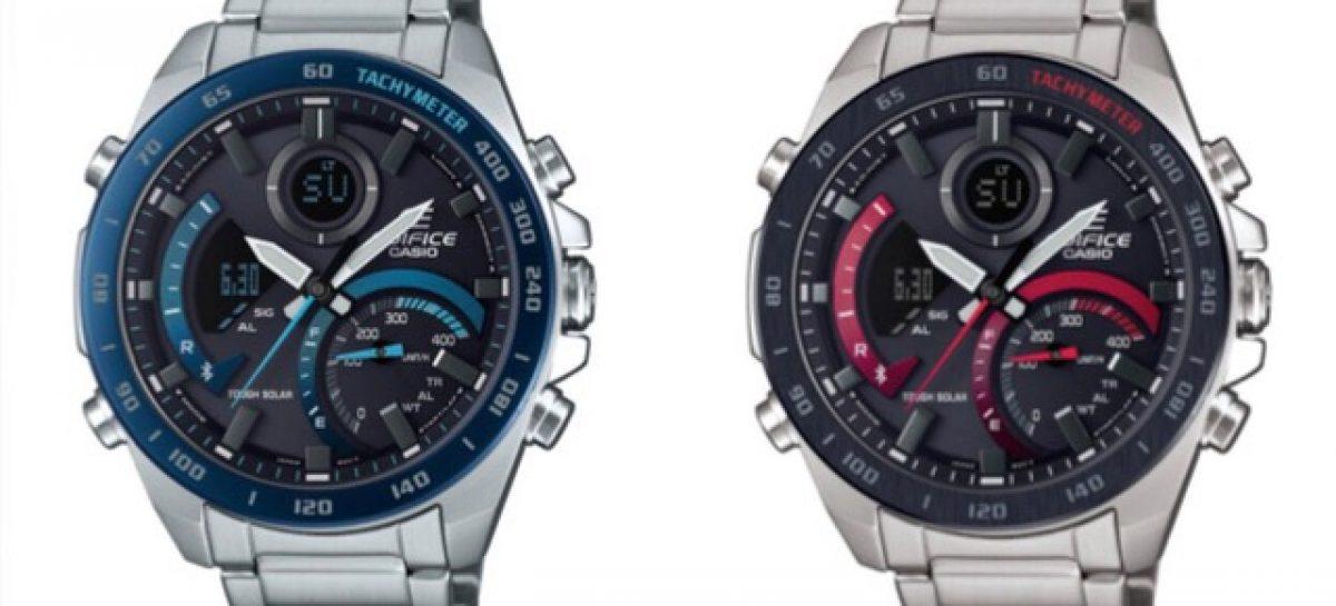 Мир автогонок вдохновил компанию CASIO на эффектный динамичный дизайн для новых часов EDIFICE