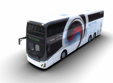 Hyundai Motor представила электрический двухэтажный автобус