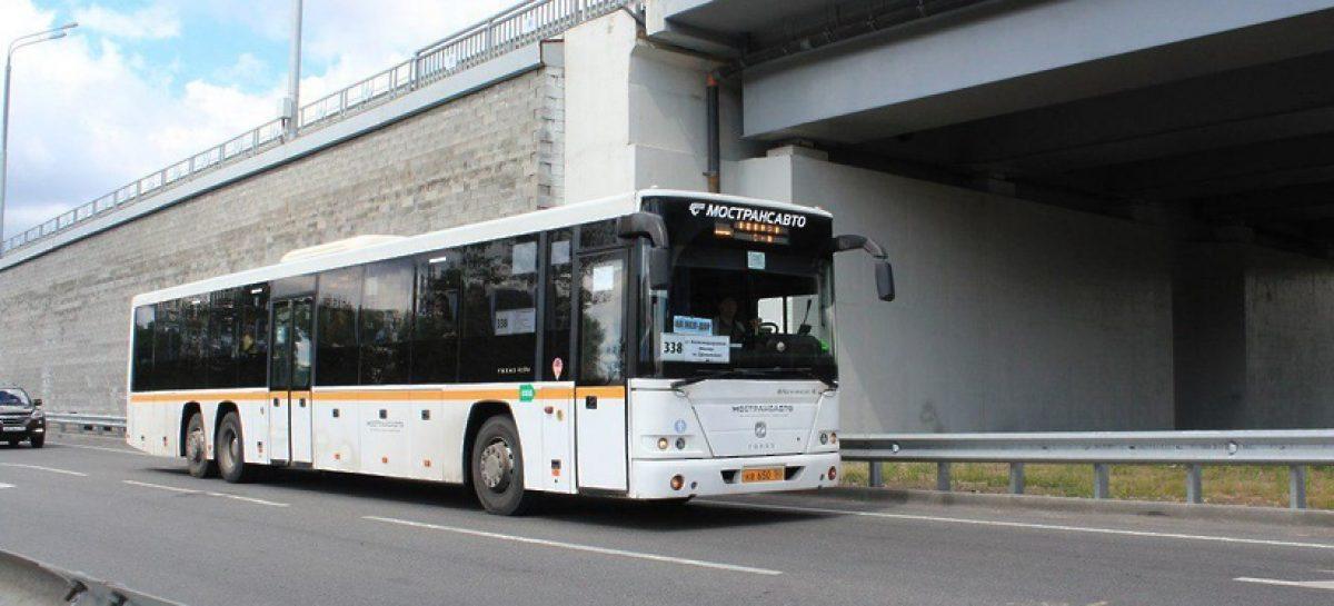Закрытие станций «фиолетовой» ветки метро не отразиться на работе областных автобусов