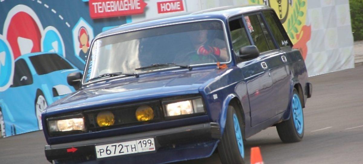 В Люберцах прошел Кубок Победы по автослалому