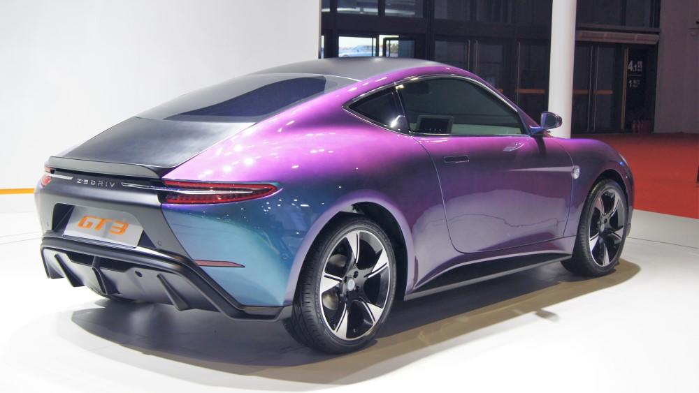 концепт-кар Zedriv GT3