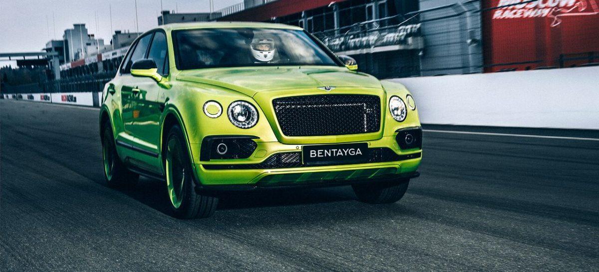 Уникальный Bentley Bentayga Pikes Peak уже в России