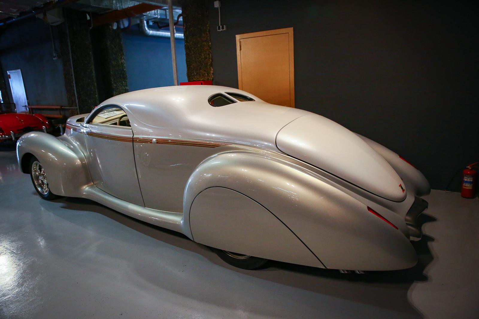 стрит-род на базе Lincoln-Zephyr 1939 года выпуска 2
