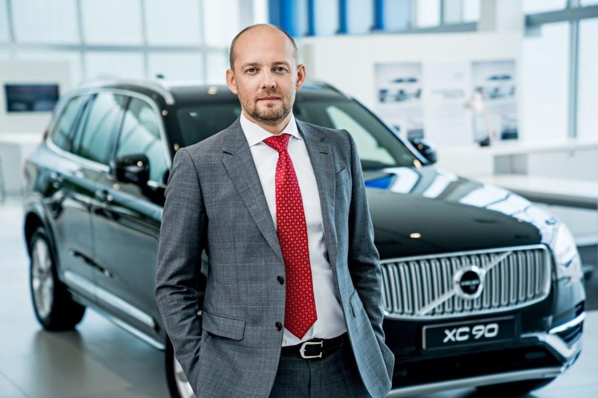 Роман Пучков, Volvo Car Russia