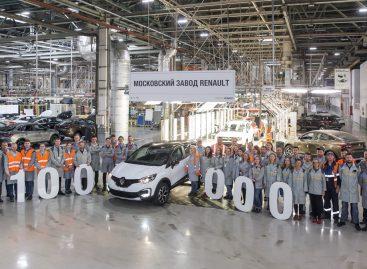 Renault  выпустил 100-тысячный Kaptur на московском заводе