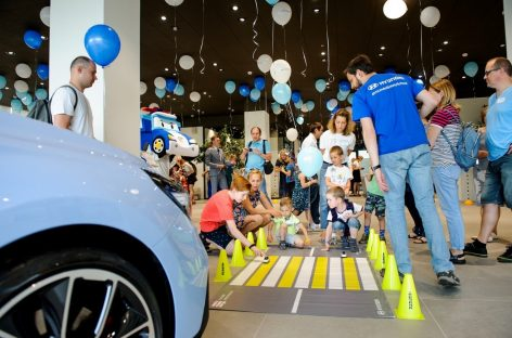 В проекте Hyundai «Безопасная дорога» приняли участие более 5500 детей