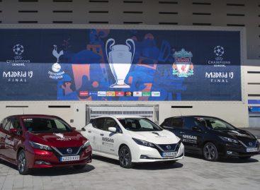 Nissan «электрифицирует» финал Лиги чемпионов УЕФА в Мадриде