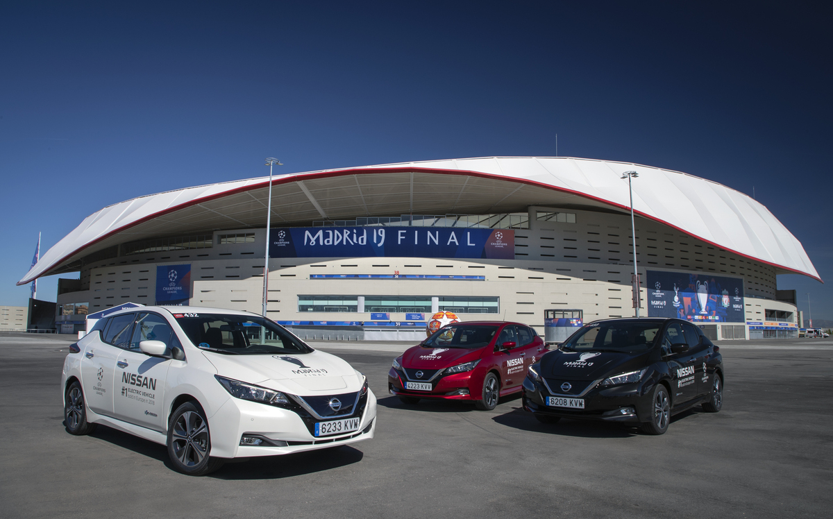 Nissan на финале Лиги чемпионов УЕФА