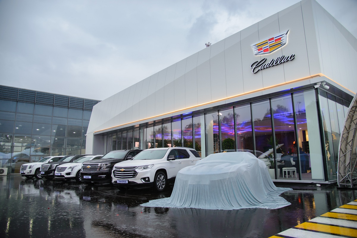 Cadillac Almaty дилерский центр в Казахстане