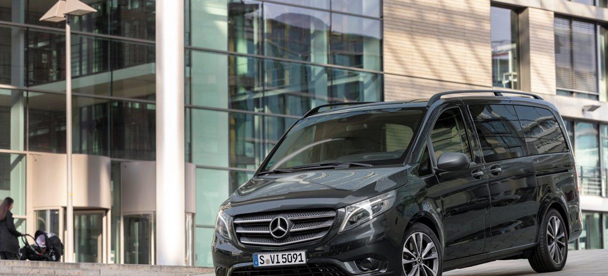 Расширение опций и вариантов окраски для Mercedes-Benz Vito
