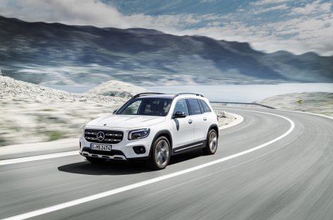 Новый Mercedes-Benz GLB: для семьи и друзей