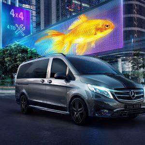 Mercedes-Benz создало специальные комплектации для популярных моделей Vito и нового Sprinter