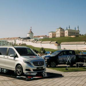 Третий год подряд Mercedes-Benz поддерживает старты по триатлону IronStar