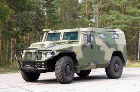 В Интернете опубликовали первые фотографии внедорожника ГАЗ Тигр Next