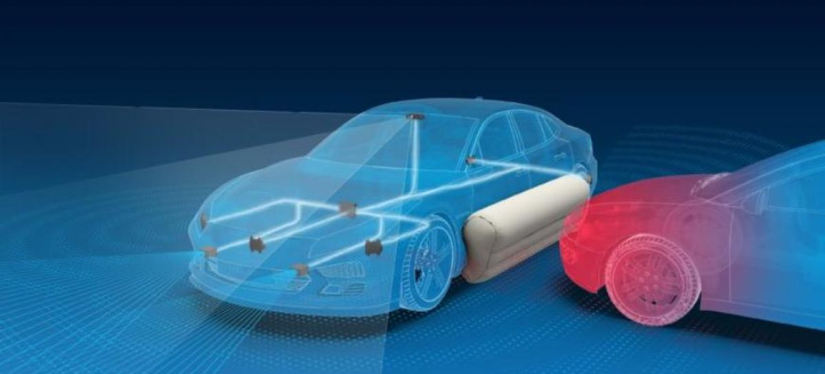 Компания ZF провела краш-тест внешних подушек безопасности