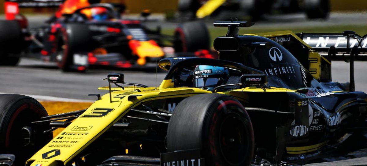 Оба пилота Renault F1 Team смогли заработать очки на гран-при Канады