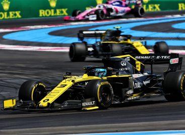 Команда Renault F1 Team приняла участие в Гран-при Франции