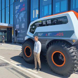 Volgabus сообщил о разработке беспилотного вездехода