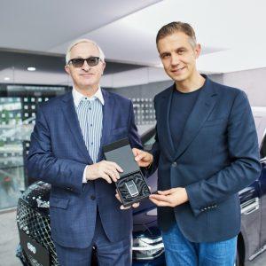 Российскому союзу промышленников и предпринимателей передан новый Genesis G90