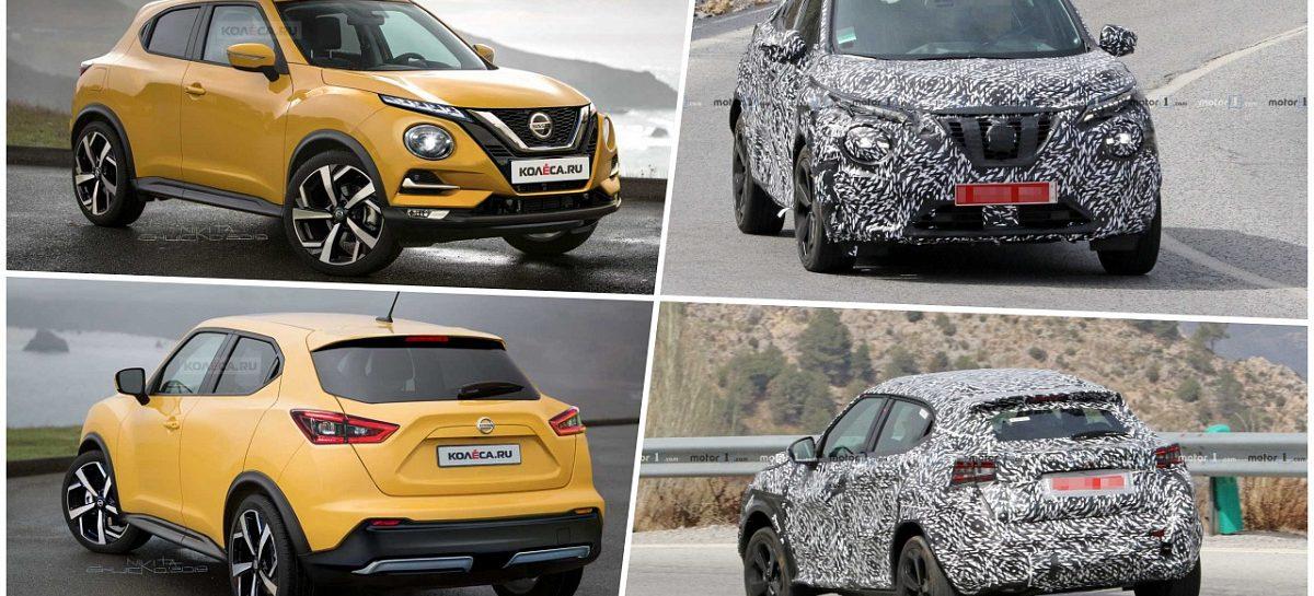 Новое поколение Nissan Juke получит обновленный дизайн