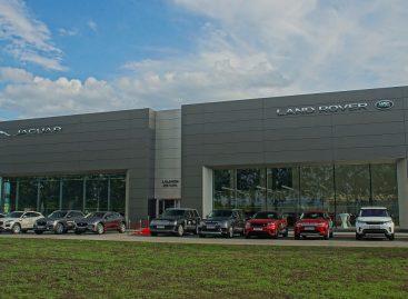 Обновленный дилерский центр Jaguar Land Rover  «Альбион-Моторс» открылся в Новосибирске