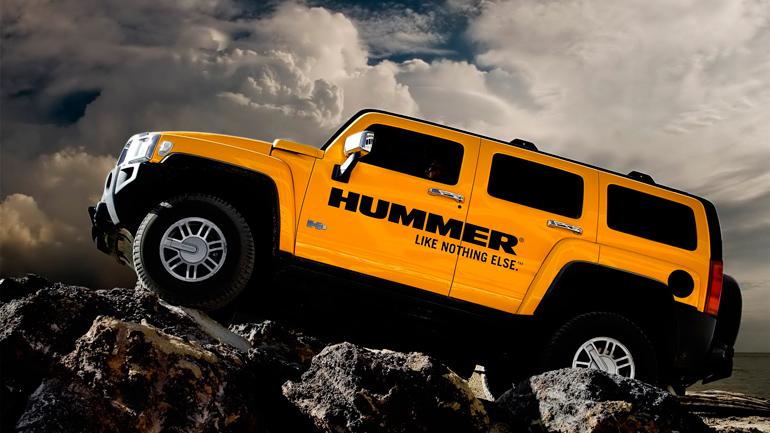 Auto_Yellow_Hummer