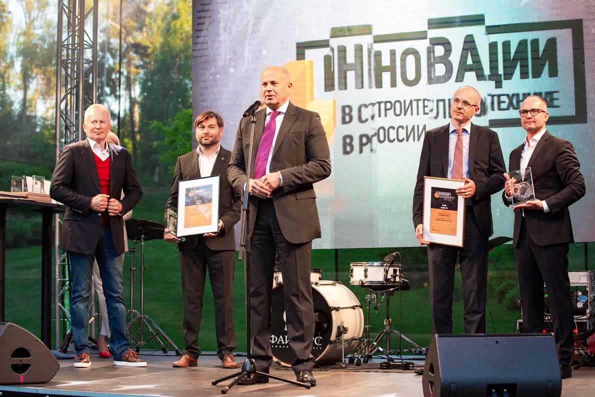 Инновации в строительной технике в России