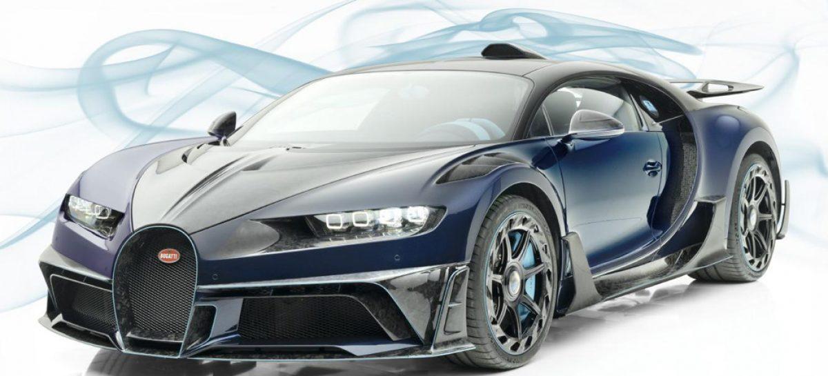 Тюнинг-ателье из Германии модифицировало Bugatti Chiron