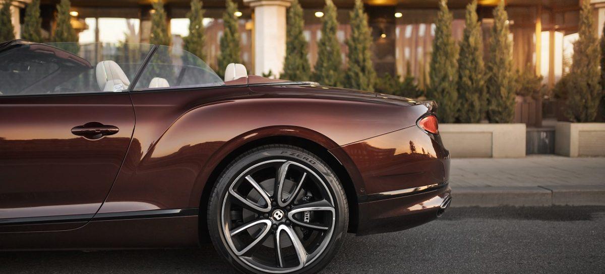 Bentley Continental GT Convertible дебютирует в России