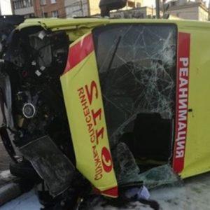 Серьезное ДТП с участием скорой произошло в Подольске