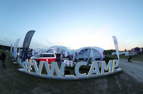 Volkswagen Коммерческие автомобили примет участие в главных летних фестивалях 2019 года