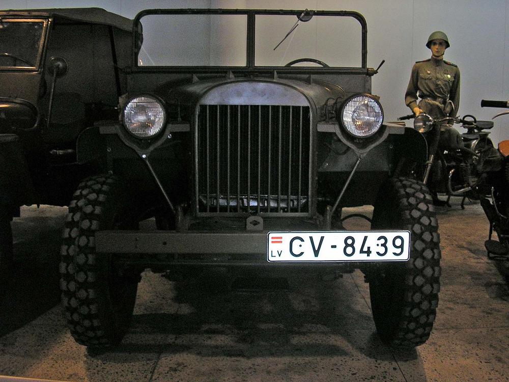 ГАЗ-64, первый джип СССР