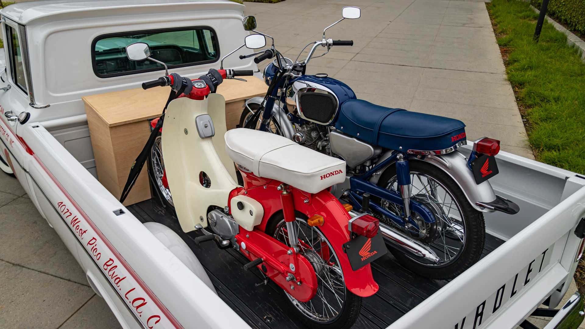 Honda Chevy восстановленная 1