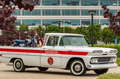 Пикап Chevy восстановили в честь юбилея Honda