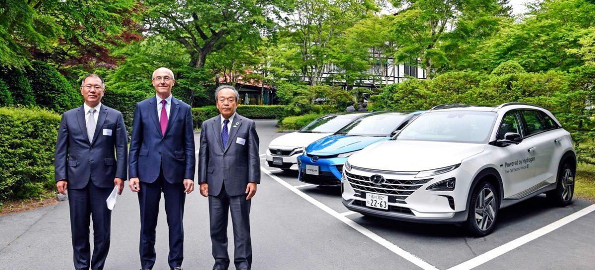 Вице-председатель Hyundai Motor Group Чон Исон называет водород решением для устойчивого развития планеты
