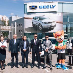 Продажи компании Geely в России выросли