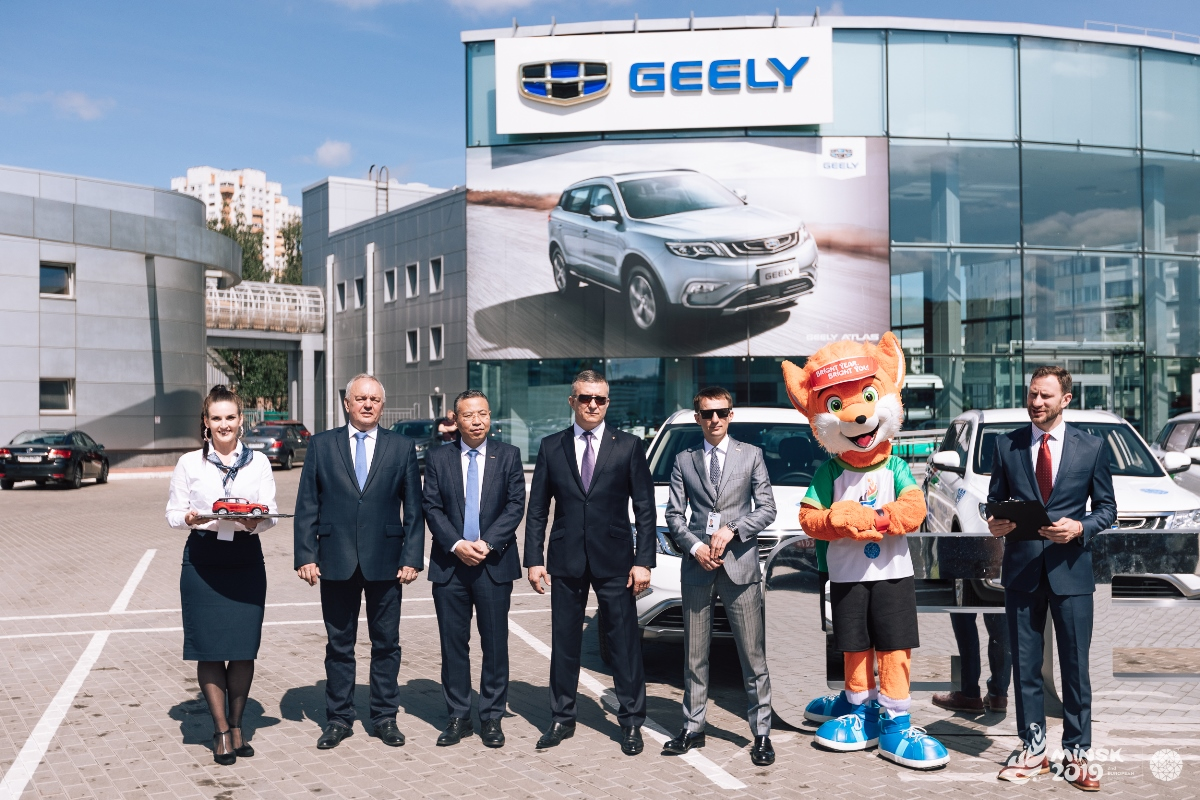 Geely Минск-2019