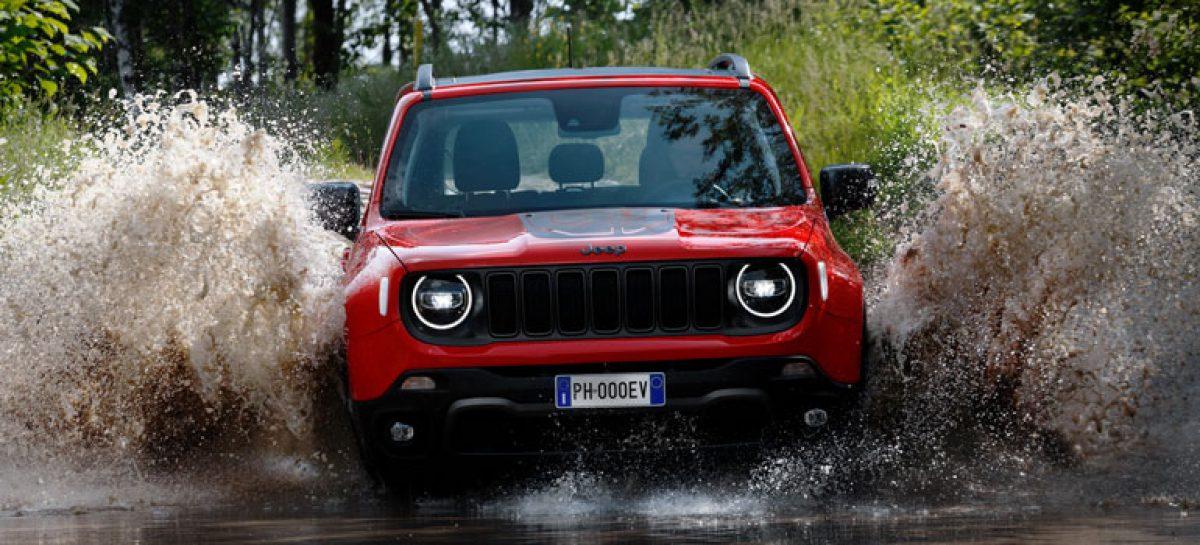 Jeep Renegade PHEV дебютирует на автомобильной выставке в Турине