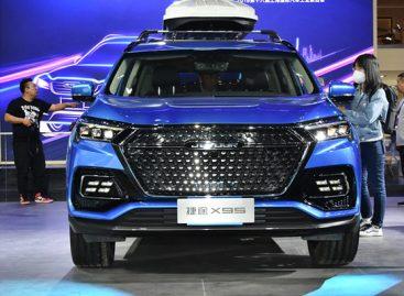 В Китае стартовала массовая сборка Jetour X95