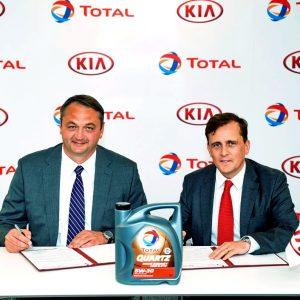 КИА Моторс Россия и СНГ и Тотал Восток продлевают соглашение о сотрудничестве