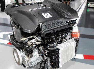 Самый мощный четырехцилиндровый мотор в мире представила компания Mercedes-AMG