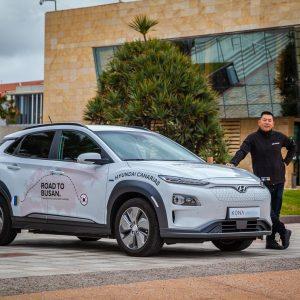 «Дорога в Пусан»: автопробег в 17 тысяч км за рулем автомобиля Hyundai Kona