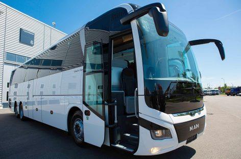 Новые лайнеры MAN Lion's Coach пополнили автопарк транспортной компании Интерсервис