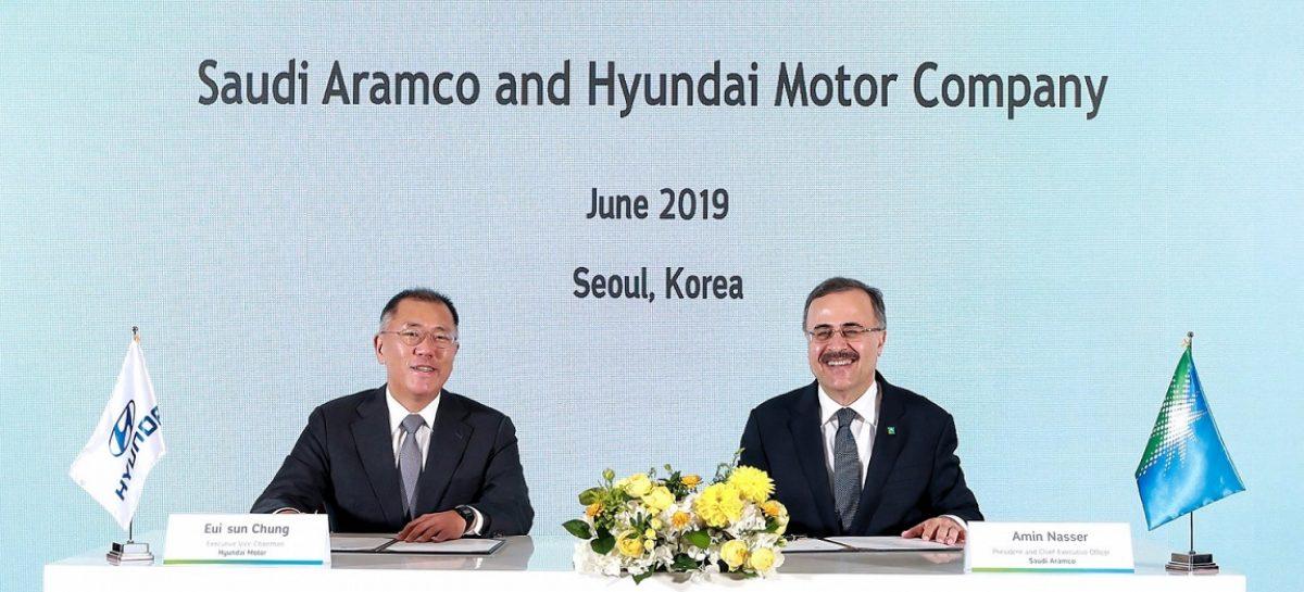 Hyundai Motor и Saudi Aramco будут сотрудничать в сфере водородной экономики