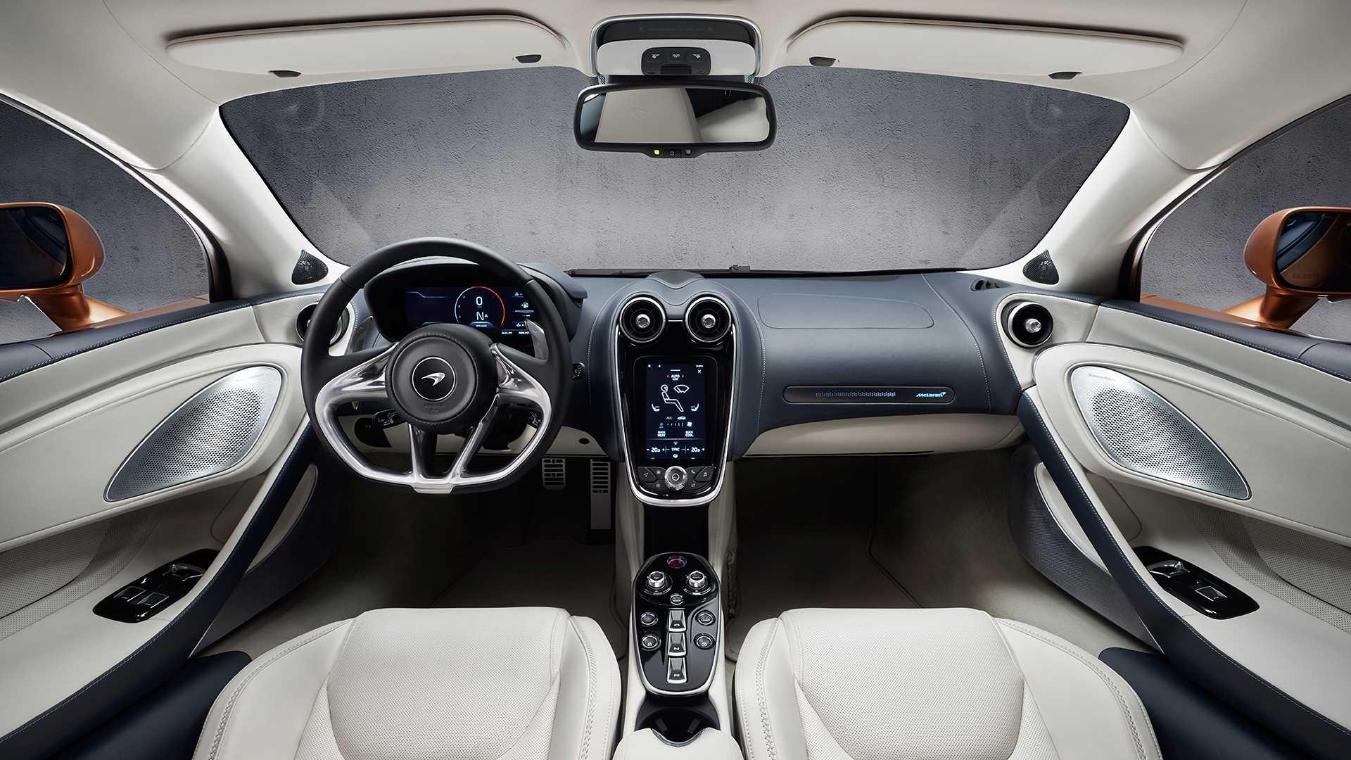 McLaren GT интерьер