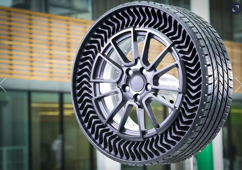Michelin безвоздушные шины