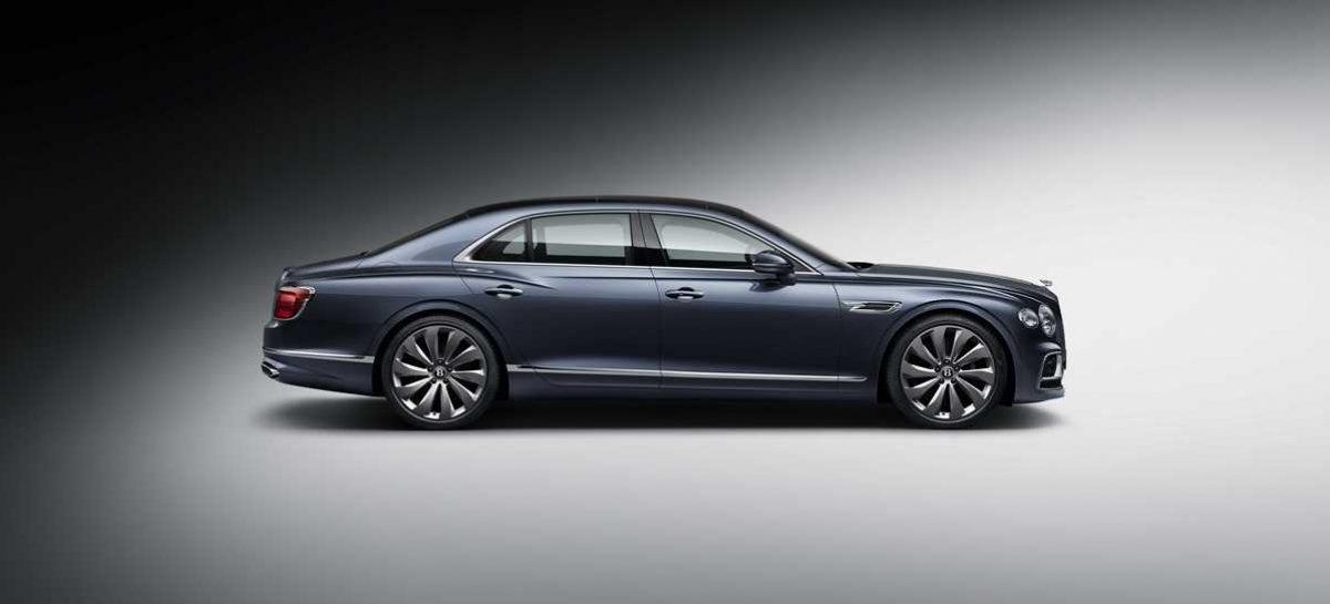 Новый Bentley Flying Spur – самый роскошный спортивный седан