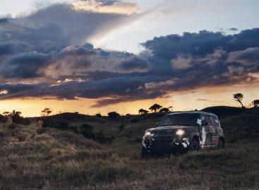 Новый Jaguar Land Rover Defender завершил испытания совместно с фондом Tusk в поддержку львиного заповедника в Кении