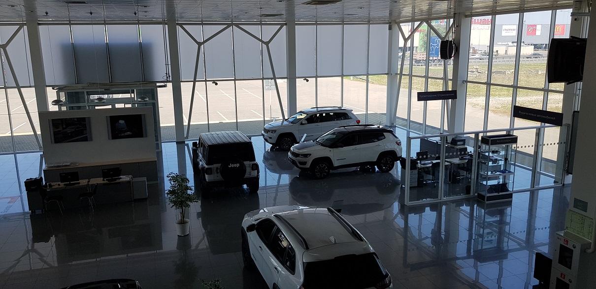 Chrysler/ Jeep дилерский центр Краснодар