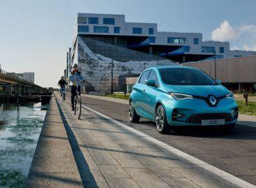 В новом электромобиле Renault ZOE увеличили мощность и запас хода